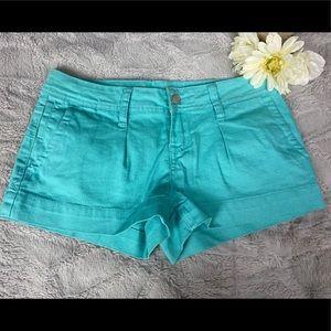American Rag teal shorts